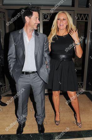 Stock Image of Sarah Bosnich and husband Steve Jones