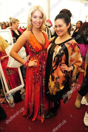 Editorial image of Essex Fashion Week VIP day, Fairlop Waters, Essex, Britain - 26 Mar 2011