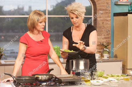 Ruth Langsford and Silvena Rowe