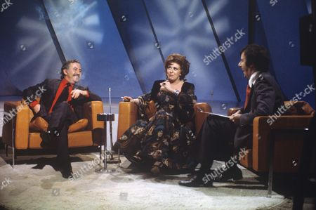 Alan Browning, Pat Phoenix and Russell Harty