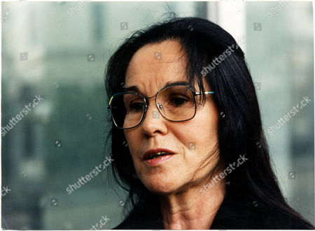 Stock Image of Margaret Lockwood Croft At Hearing Her 26 Year Old Son Shaun Lockwood Croft Was Killed In The Marchioness Riverboat Disaster When The Dredger Bowbelle Ploughed Into The Disco Boat On The River Thames In August 1989 Sean Lockwood Croft