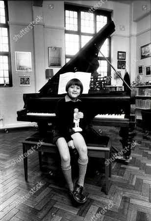 Stock Picture of Eight Year Old Pianist Frederick Kempf Is To Be The Youngest Soloist To Play With The Royal Philharmonic Orchestra