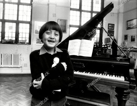 Stock Photo of Eight Year Old Pianist Frederick Kempf Is To Be The Youngest Soloist To Play With The Royal Philharmonic Orchestra