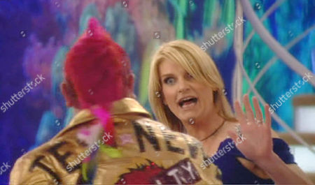 Darryn Lyons and Sally Bercow