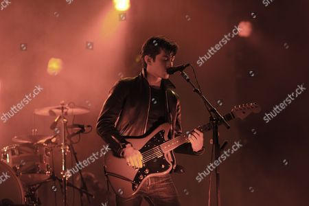 Stock Picture of The Arctic Monkeys headline the V Festival at Hylands Park in Chelmsford on 20/08/11