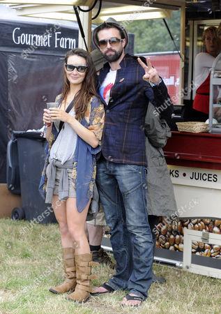 Claire Cooper and Emmett Scanlan