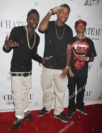 Stock Photo of Cali Swag District - Yung, Smoove Da General, Jay Are