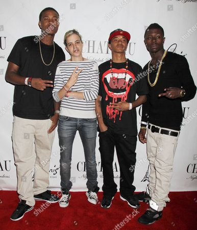 Stock Picture of Cali Swag District - Smoove Da General, Jay Are, Yung with Samantha Ronson