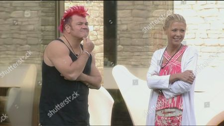 Darryn Lyons and Tara Reid