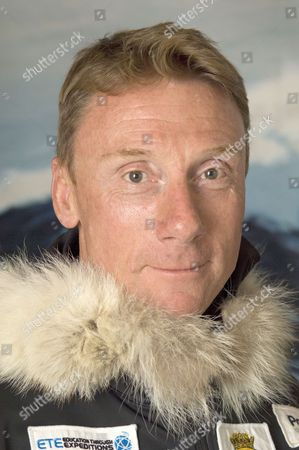 Lieutenant Commander Paul Hart, Leader of the British Services Antarctic Expedition.