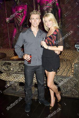 Ryan Wells and Melissa Walton