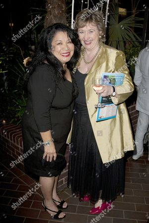 Loretta Ables Sayre (Bloody Mary) and Rosemary Squire (Producer)