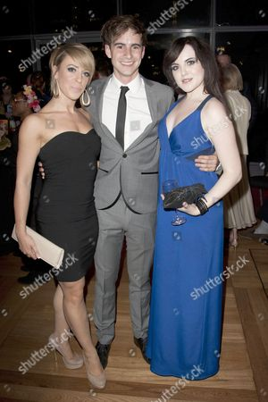 Natalie Andreou, Luke Kempner (Professor) and Niamh Perry