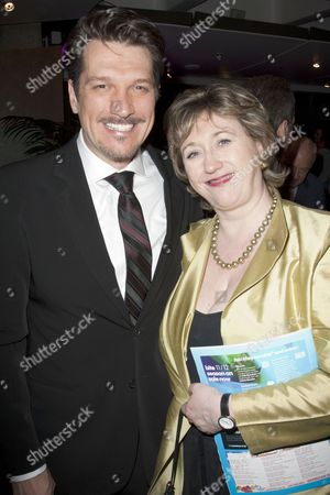 Paulo Szot (Emile De Becque) and Rosemary Squire (Producer)
