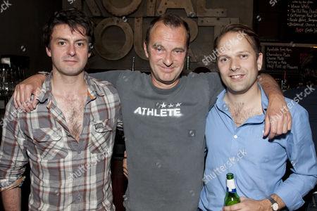 Dominic Rowan, Phil Cornwell and Nicholas Burns
