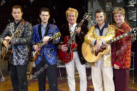 Editorial picture of Million Dollar Quartet photocall, London, Britain - 13th July 2011