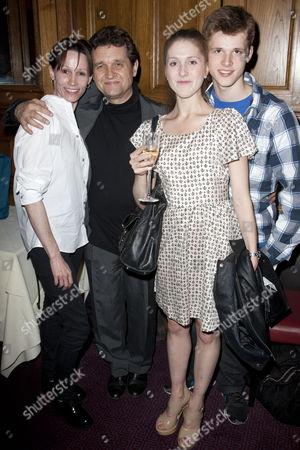 Stock Image of Zara Deakin, Peter Schaufuss, Tara Schaufuss and Luke Schaufuss