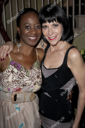 Dawn Hope and Ellen Greene