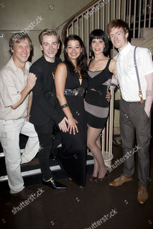 Peter Duncan, Steven Webb, Ashleigh Gray, Ellen Greene and Benedict Salter
