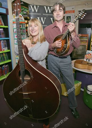 Editorial image of Simon Mayer and Hilary James 'Musical Mystery Tour' at Waterstones, Reading, Britain - 24 Aug 2011