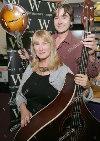 Editorial picture of Simon Mayer and Hilary James 'Musical Mystery Tour' at Waterstones, Reading, Britain - 24 Aug 2011