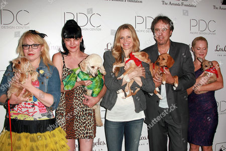 Editorial image of 2nd Annual 'Pattern for Paws Presents Pup-A Razzi' Benefitting the Amanda Foundation, Los Angeles, America - 24 Aug 2011
