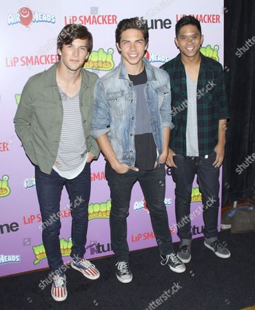 Zach Porter, Cameron Quiseng and Michael Martinez - Allstar Weekend
