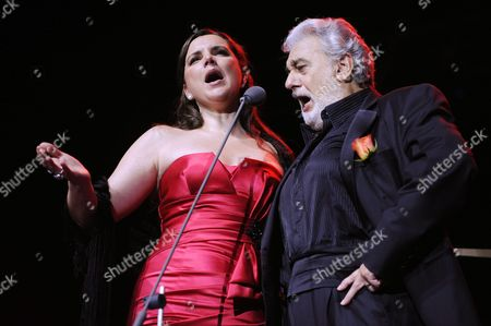 Editorial photo of Placido Domingo in concert, Helsinki, Finland - 24 Aug 2011