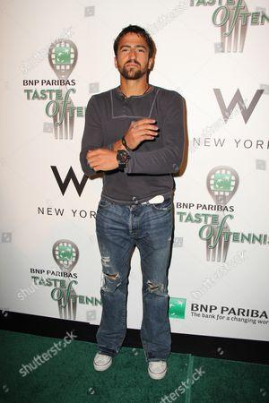 Editorial picture of 12th Annual BNP Paribas Taste of Tennis, New York, America - 25 Aug 2011