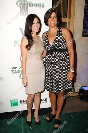 Editorial picture of 12th Annual BNP Paribas Taste of Tennis, New York, America - 25 Aug 2011