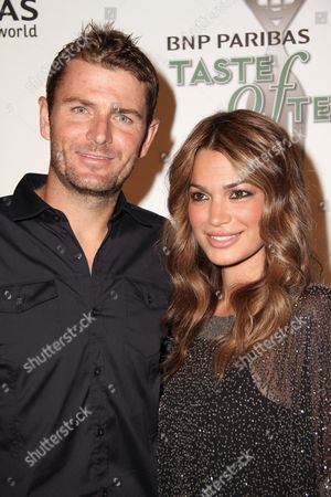 Stock Image of Mardy Fish and Stacey Gardner