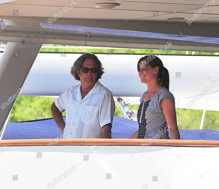 Eric Clapton and Melia McEnery