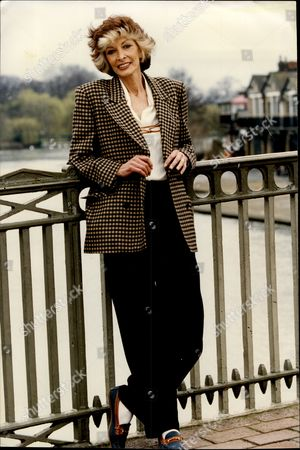 Stock Picture of Comedienne Marti Caine.