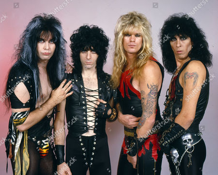 W.A.S.P. with Steven Edward Duren on the left