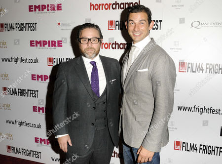 Andy Nyman and director Cristian Solimeno