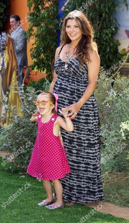 Ali Landry with daughter Estela Ines Monteverde