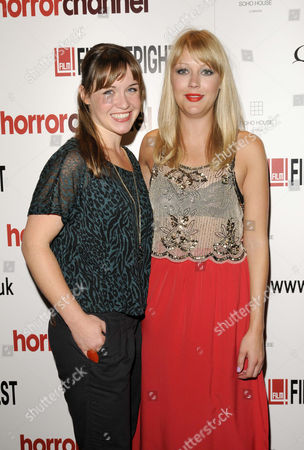 'Panic Button' film premiere - Scarlett Alice Johnson and Elen Rhys