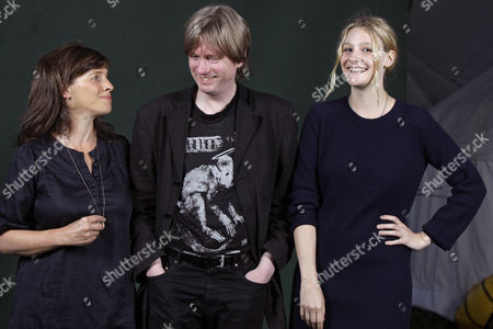 Lucinda Coxon, Michel Faber and Romola Garai
