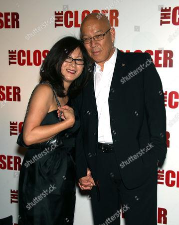 Michael Paul Chan and Christina