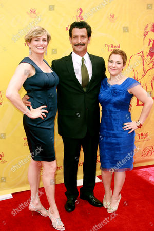 Stock Picture of Cady Huffman ; Robert Torti and Daisy Egan