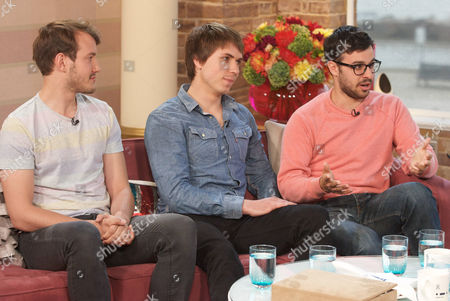 Jonny Sweet, Joe Thomas and Simon Bird