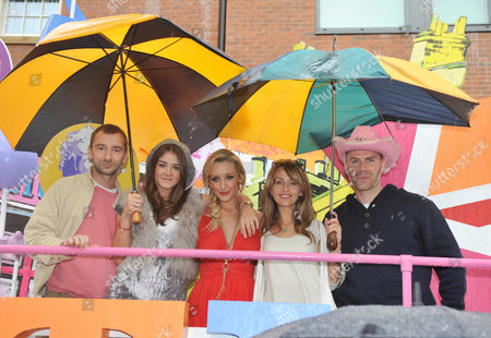 Charlie Condou, Brooke Vincent, Catherine Tyldesley, Samia Ghadie and Will Thorp