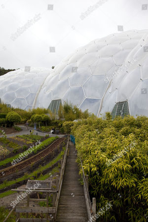 Editorial image of Tim Smit at the Eden Project in Cornwall, Britain - 26 May 2011