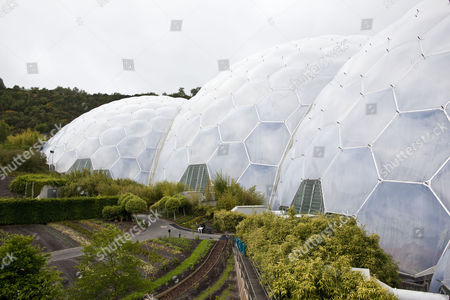 The Eden Project, Cornwall, England, Britain