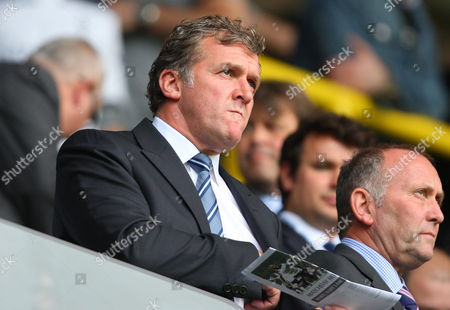 Garry Cook, Chief Executive of Manchester City