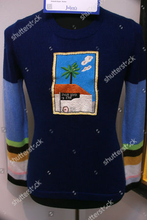 Riva Mann David Hockney Sweater. Estimate: $1,500-$2,000