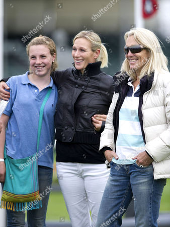 Stephanie Phillips, Zara Phillips and guest