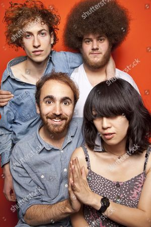 Yuck - Daniel Blumberg, Max Bloom, Mariko Doi and Jonny Rogoff