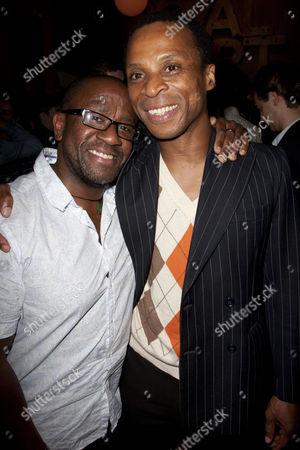 Lucian Msamati and Jude Akuwudike