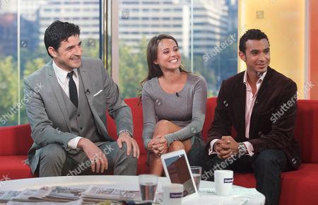 Editorial image of 'Daybreak' TV Programme, London, Britain - 01 Sep 2011